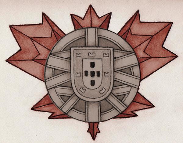PortugueseCanadian  Tattoo Design by Insanemoe on DeviantArt