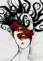 Paranoid Eyes by samoshaver