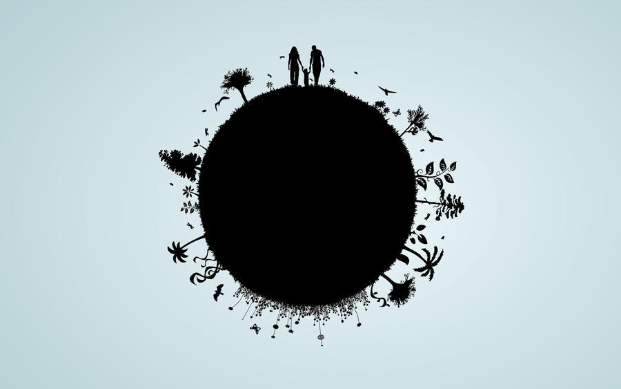 Family globe by im7md