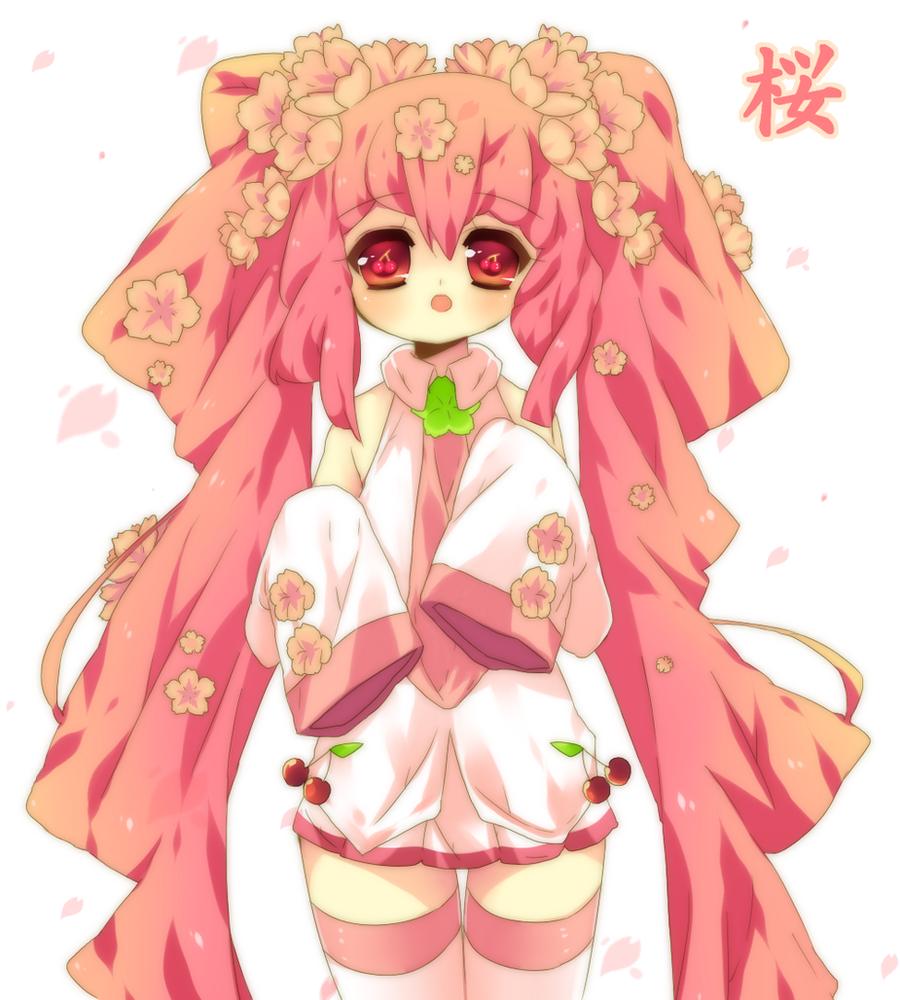 Sakura Miku Collab by Nijiiru