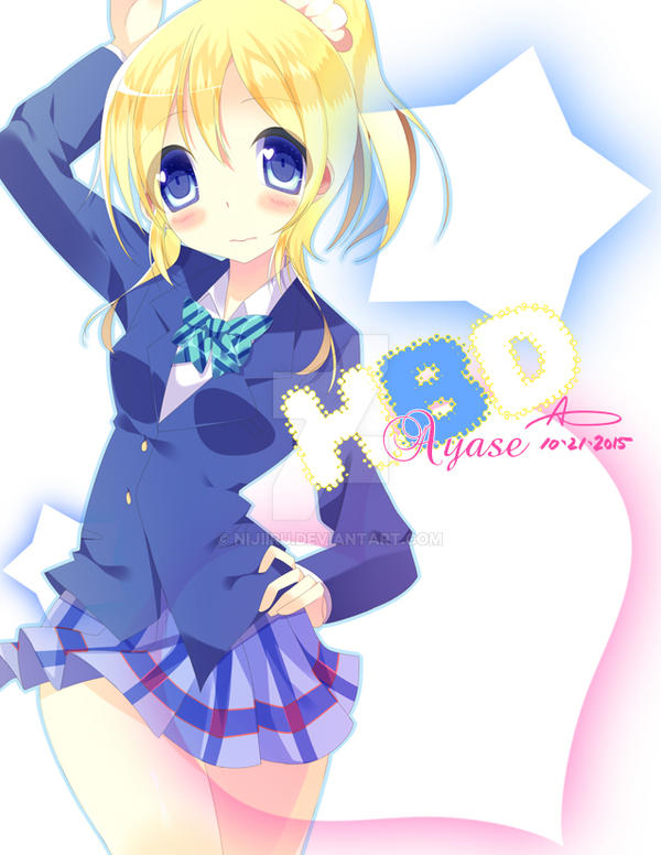 HBD Ayase by Nijiiru