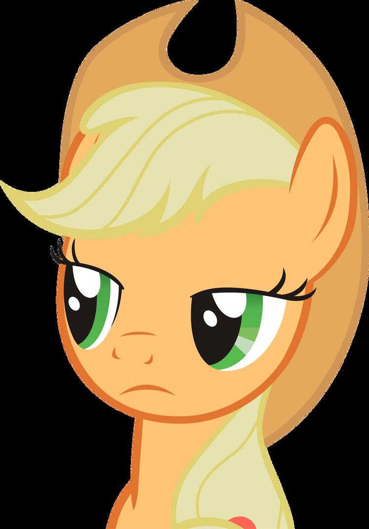 Applejack, Why so serious? by KurosakiSoarin