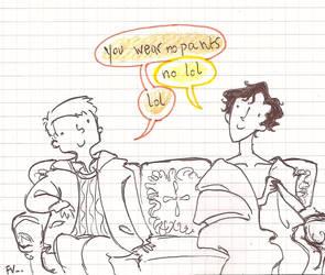 Sherlock silly something