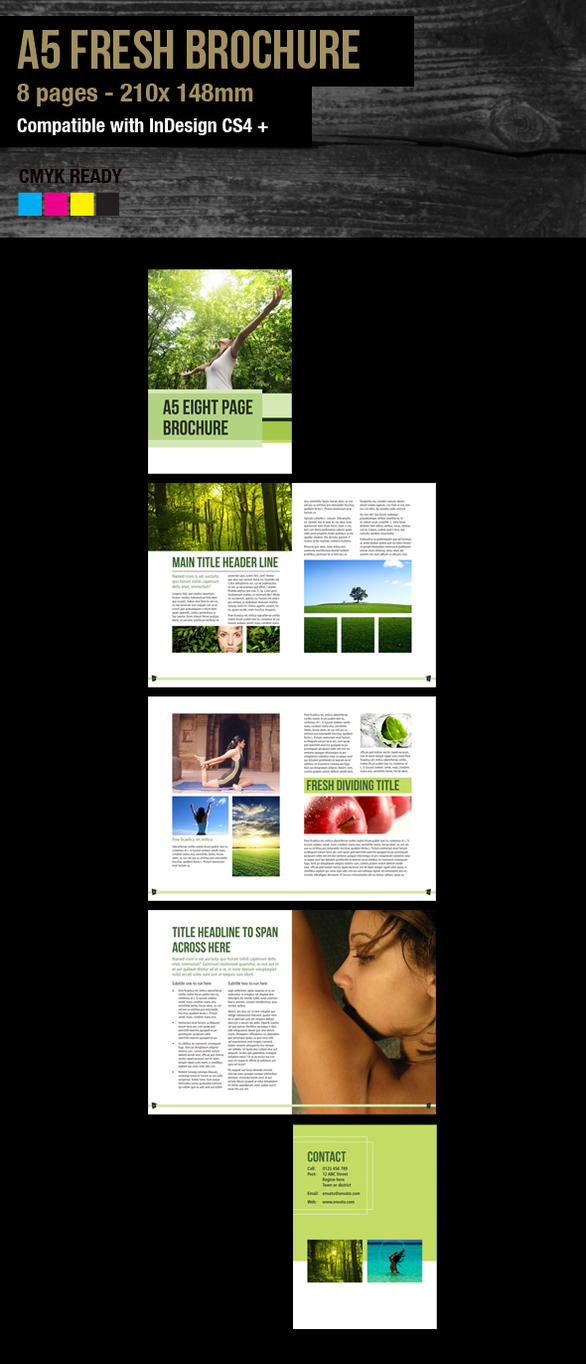 a5 brochure template - indesign a5 brochure fresh template by sleight0fhand on