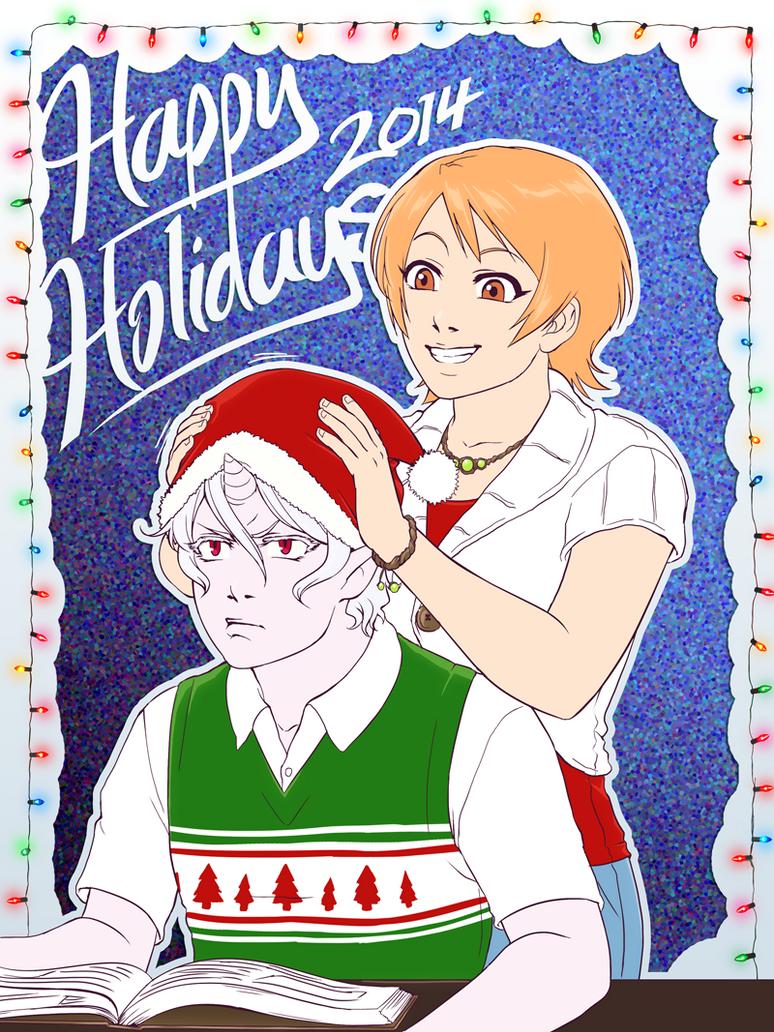 [Midwinter] Happy Holidays! 2014 by Deus-Nocte