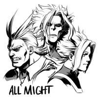 All Might by Deus-Nocte