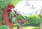 Sailor Jupiter as Robin Hood
