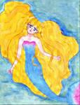 Blond Mermaid by Loana