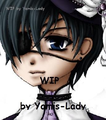 WIP - Kuroshitsuji by Yamis-Lady