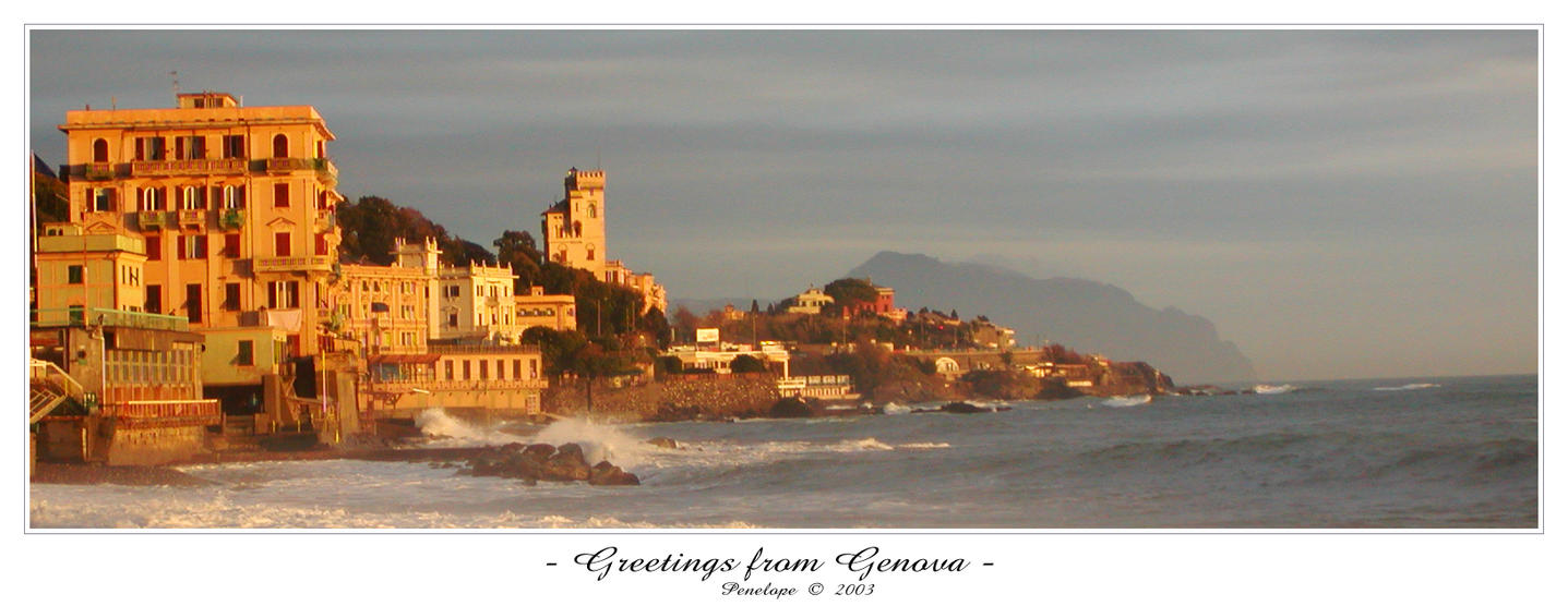- Greetings from Genova - by penelopew