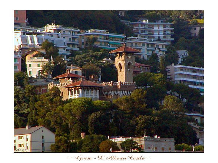 Genoa - D'albertis Castle by penelopew