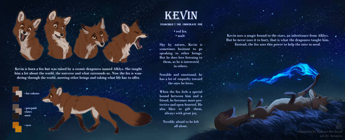 Commission: Kevin reference