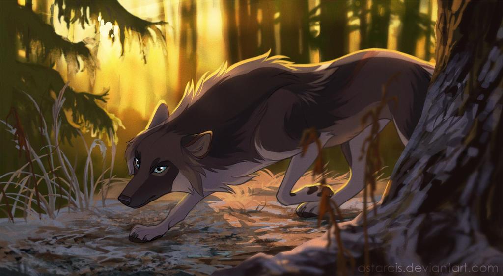 Commission: Autumn spirit by Astarcis