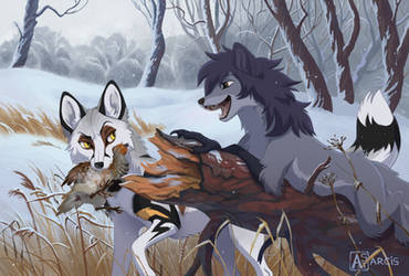 Commission: good hunting by Astarcis