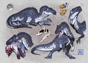 Commission: acrocanthosaurus