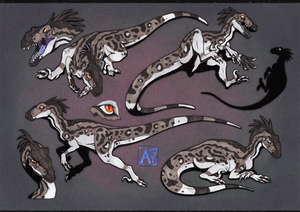 Commission: Raptor boy (JP style)