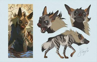 Snap, but as a striped hyena