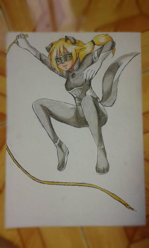 Dark Cat Draw