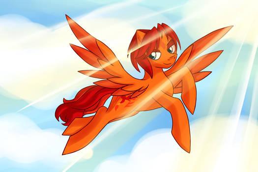 .: A Flying Golden Fox:.