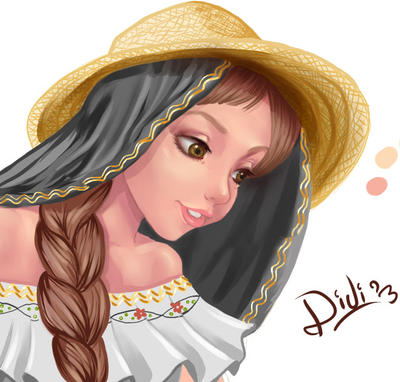Campesina Santandereana by Didi-Esmeralda