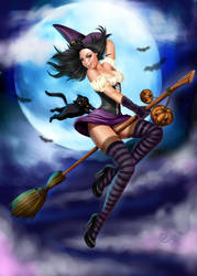 Witch Halloween by Didi-Esmeralda