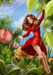 Young Arrietty Ghibli Fanart