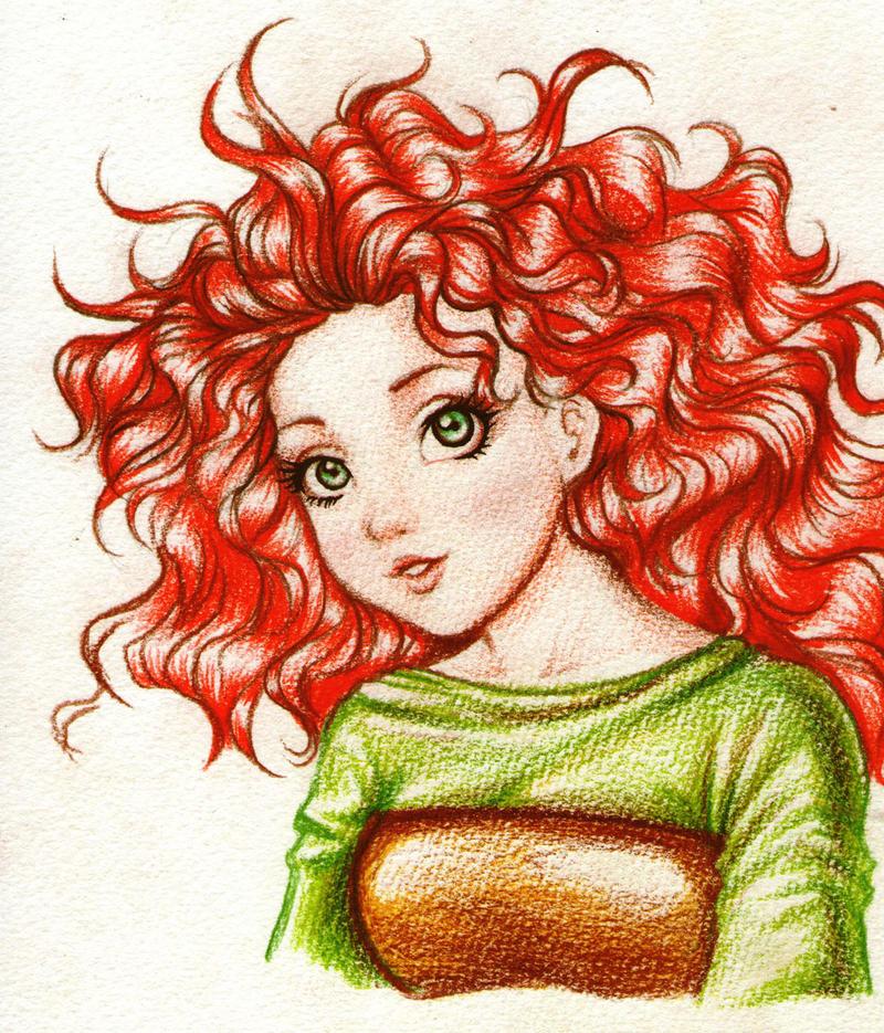 Merida Brave - Disney / Pixar by Didi-Esmeralda