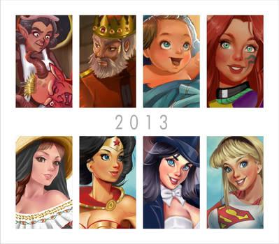 Summary 2013, Happy New Year 2014 by Didi-Esmeralda