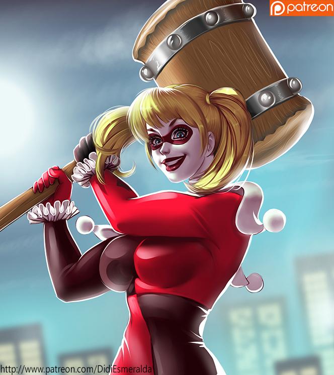Harley Quinn by Didi-Esmeralda