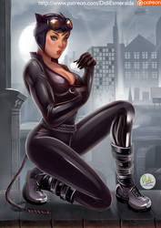 Catwoman Pin-Up by Didi-Esmeralda