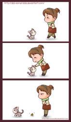 The Gift Kitty by Didi-Esmeralda
