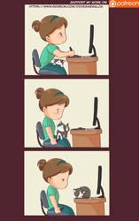 Work kitty by Didi-Esmeralda