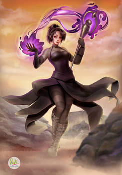 Nico Minoru Fan Art Marvel Comics