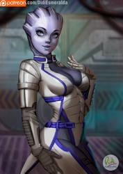 Liara T'soni Mass Effect