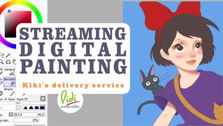 Now streaming Kiki's delivery service by Didi-Esmeralda