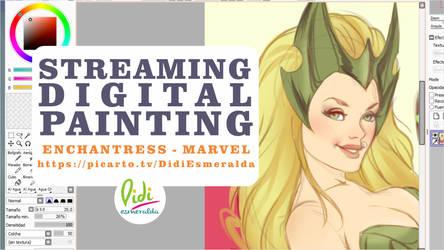 Now streaming Enchantress by Didi-Esmeralda