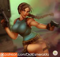 Lara Croft - Tomb Raider - Fanart Commission by Didi-Esmeralda