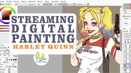 Today Streaming Harley Quinn by Didi-Esmeralda