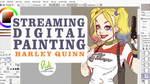 Today Streaming Harley Quinn by Didi-Esmeralda