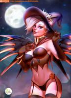 Mercy Sexy Halloween Overwatch by Didi-Esmeralda