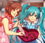Miku and Meiko