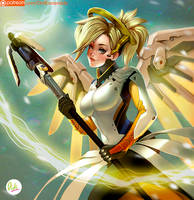Mercy Overwatch by Didi-Esmeralda
