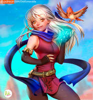 Micaiah Fire Emblem by Didi-Esmeralda