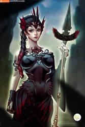 Zeelia Goddess of Death by Didi-Esmeralda