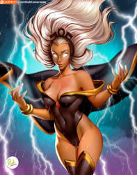 Storm - Marvel by Didi-Esmeralda