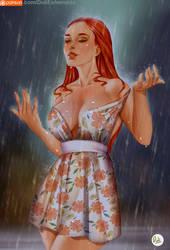 Spring Rain Girl by Didi-Esmeralda