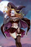 Dark Supergirl Witch Fanart by Didi-Esmeralda