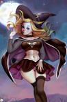 Dark Supergirl Witch Fanart