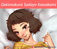 Sadayo Kawakami Dakimakura Post by Didi-Esmeralda
