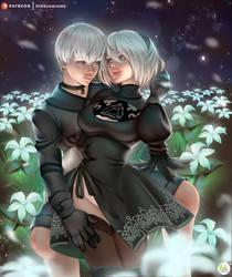 Valentine's Day Nier Automata by Didi-Esmeralda